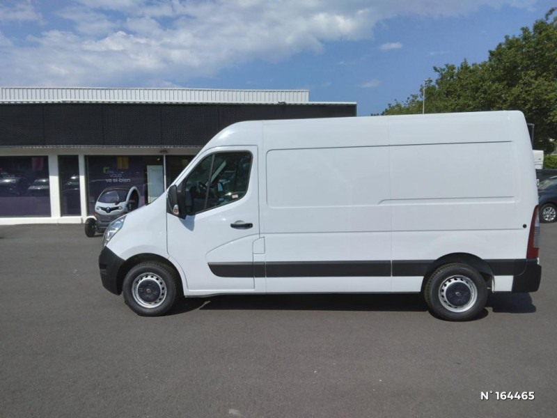 Renault Master F3500 L2H1 2.3 dCi 170ch energy Grand Confort Euro6 Blanc occasion à Deauville - photo n°8