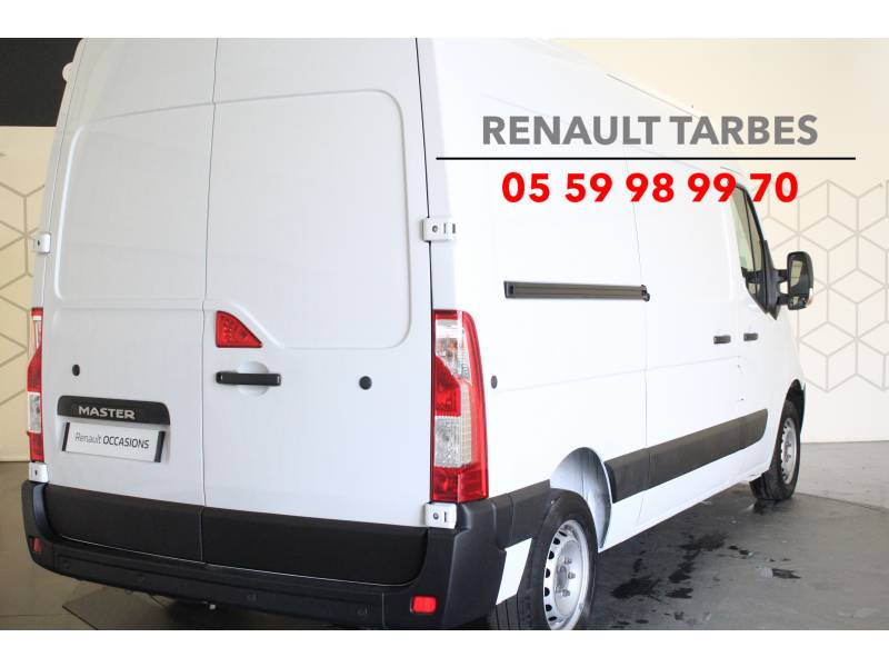 Renault Master FOURGON FGN L2H2 3.3t 2.3 dCi 130 E6 GRAND CONFORT Blanc occasion à TARBES - photo n°5