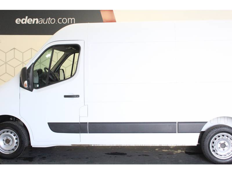Renault Master FOURGON FGN L2H2 3.3t 2.3 dCi 130 E6 GRAND CONFORT Blanc occasion à TARBES - photo n°3