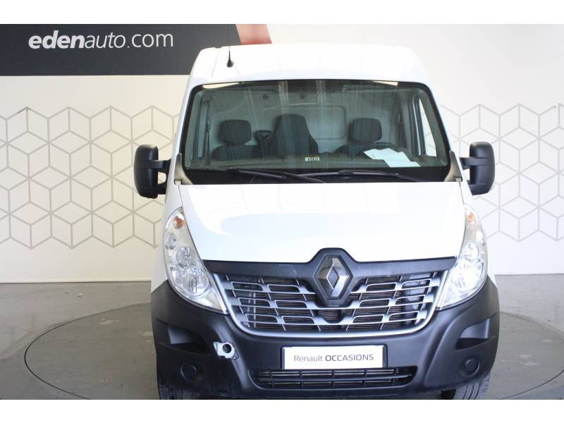 Renault Master FOURGON FGN L2H2 3.3t 2.3 dCi 130 E6 GRAND CONFORT Blanc occasion à TARBES - photo n°2