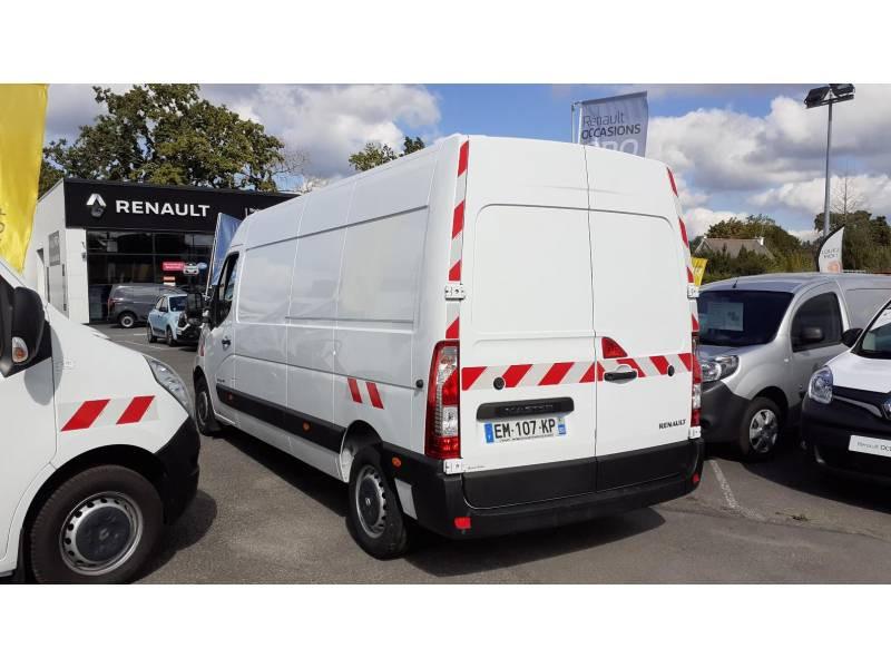 Renault Master FOURGON FGN L3H2 3.5t 2.3 dCi 145 ENERGY E6 GRAND CONFORT Blanc occasion à VANNES - photo n°4