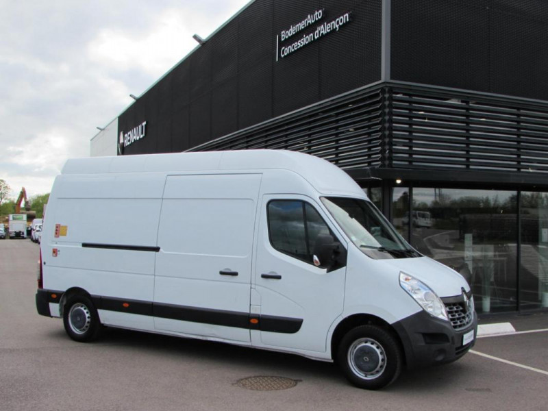Renault Master FOURGON FGN L3H3 3.5t 2.3 dCi 110 Blanc occasion à VALFRAMBERT