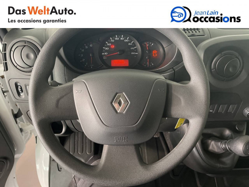 Renault Master MASTER 2.3dCi  L2H1 3.5t 130CH  4p Blanc occasion à Seynod - photo n°12