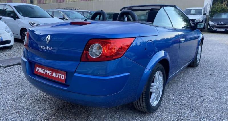 Renault Megane CC 1.6 16V 115CH CONFORT AUTHENTIQUE Bleu occasion à VOREPPE - photo n°3