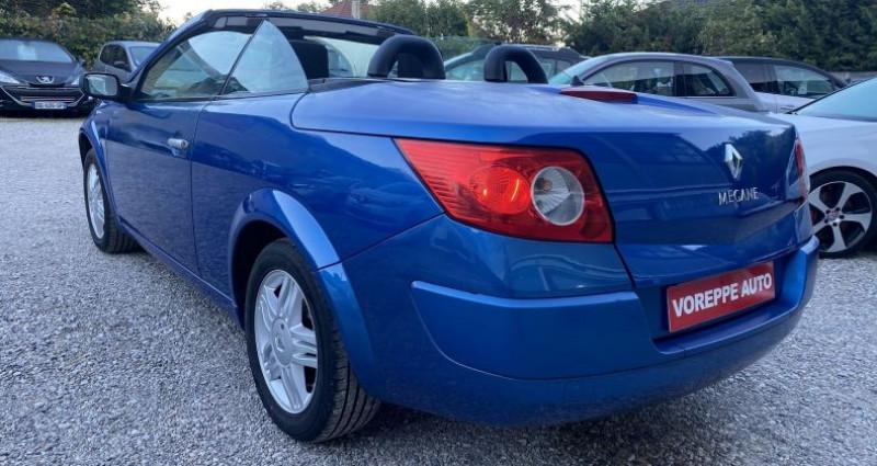 Renault Megane CC 1.6 16V 115CH CONFORT AUTHENTIQUE Bleu occasion à VOREPPE - photo n°6