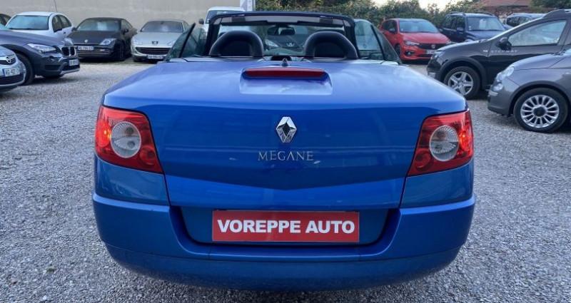 Renault Megane CC 1.6 16V 115CH CONFORT AUTHENTIQUE Bleu occasion à VOREPPE - photo n°5