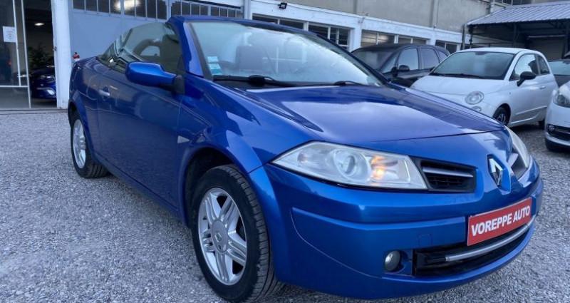 Renault Megane CC 1.6 16V 115CH CONFORT AUTHENTIQUE Bleu occasion à VOREPPE - photo n°4