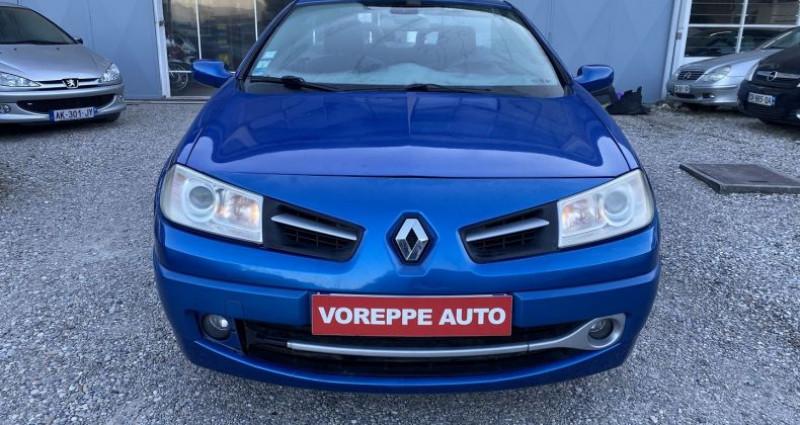 Renault Megane CC 1.6 16V 115CH CONFORT AUTHENTIQUE Bleu occasion à VOREPPE - photo n°2