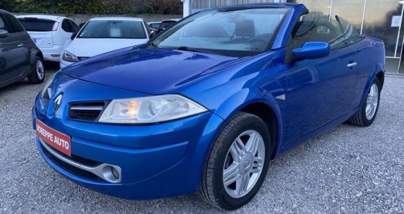Renault Megane CC 1.6 16V 115CH CONFORT AUTHENTIQUE Bleu occasion à VOREPPE