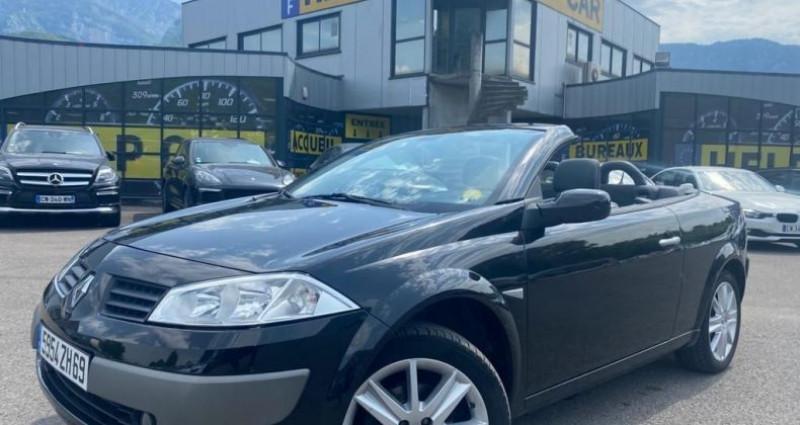 Renault Megane CC 2.0 16V 136CH LUXE DYNAMIQUE Noir occasion à VOREPPE