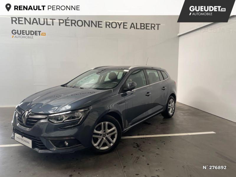 Renault Megane Estate 1.5 Blue dCi 115ch Business Gris occasion à Péronne