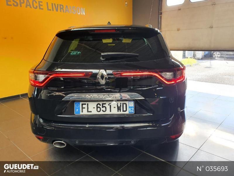 Renault Megane Estate 1.5 Blue dCi 115ch Intens EDC Noir occasion à Saint-Maximin - photo n°3