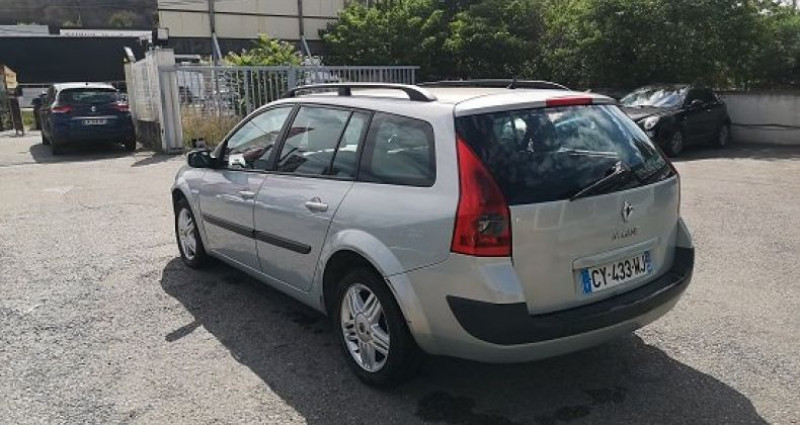 Renault Megane Estate ESTATE Gris occasion à Les Pennes-Mirabeau - photo n°4
