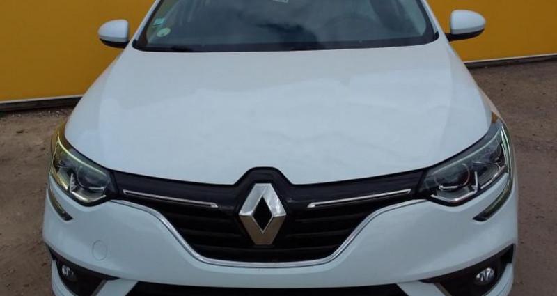 Renault Megane Estate IV BUSINESS Estate dCi 90 Energy Blanc occasion à Fontenay-le-vicomte - photo n°2