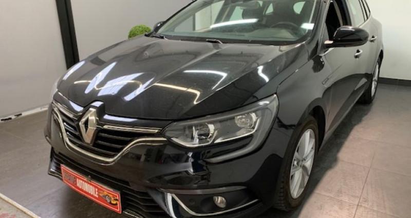Renault Megane Estate IV ESTATE 1.2 TCe 130 CV 2018 BVA Noir occasion à COURNON D'AUVERGNE - photo n°4