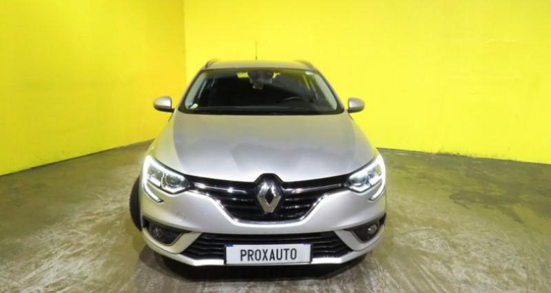 Renault Megane Estate IV Estate 1.5 dCi 110ch energy EDC Business Gris occasion à Fontenay-le-vicomte - photo n°2