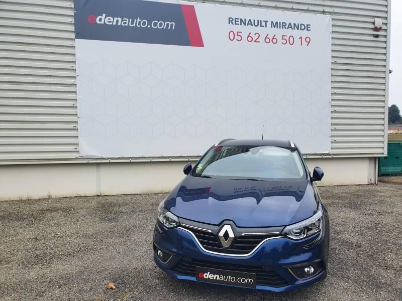Renault Megane Estate IV ESTATE BUSINESS Blue dCi 115 Bleu occasion à Moncassin