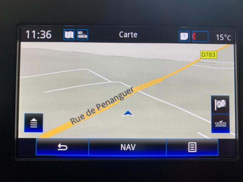 Renault Megane Estate IV ESTATE BUSINESS Blue dCi 95 Blanc occasion à CONCARNEAU - photo n°11