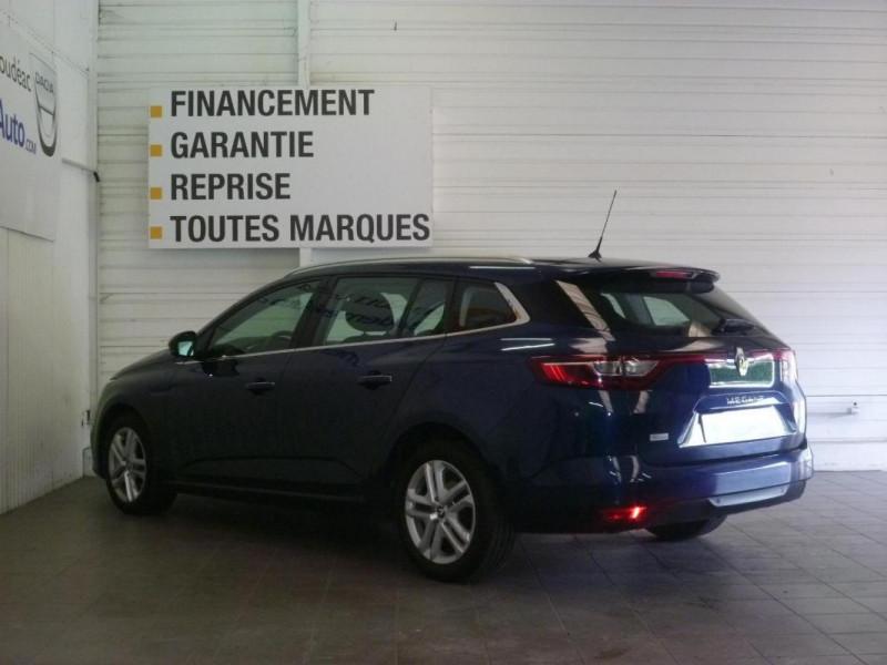 Renault Megane Estate IV ESTATE BUSINESS dCi 110 Energy Bleu occasion à LOUDEAC - photo n°4