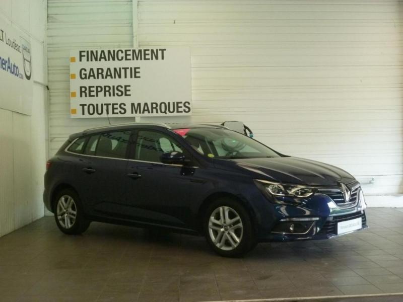 Renault Megane Estate IV ESTATE BUSINESS dCi 110 Energy Bleu occasion à LOUDEAC - photo n°2