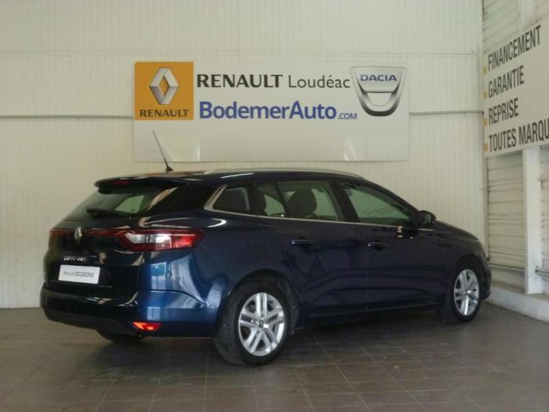 Renault Megane Estate IV ESTATE BUSINESS dCi 110 Energy Bleu occasion à LOUDEAC - photo n°3