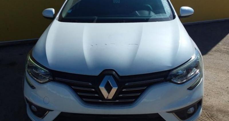 Renault Megane Estate IV Estate dCi 110 Energy EDC Intens Blanc occasion à Fontenay-le-vicomte - photo n°2