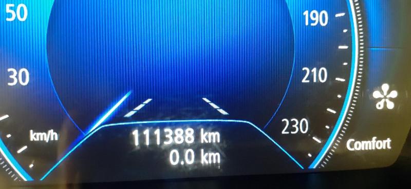 Renault Megane Estate IV ESTATE dCi 110 Energy Intens Gris occasion à SAINT-LO - photo n°6