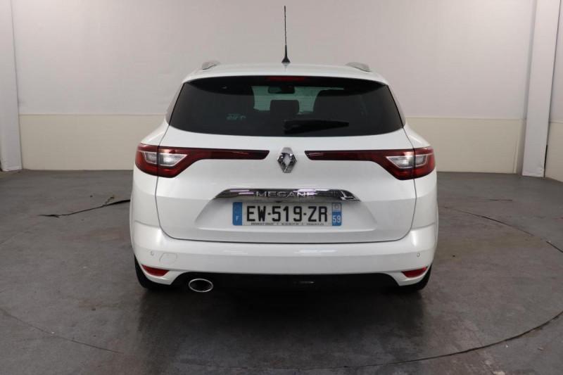 Renault Megane Estate IV ESTATE dCi 130 Energy Intens Blanc occasion à Seclin - photo n°4