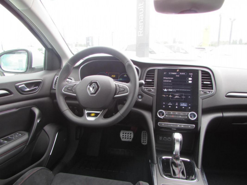 Renault Megane Estate IV ESTATE E-TECH Plug-In Hybride Blanc occasion à VALFRAMBERT - photo n°7