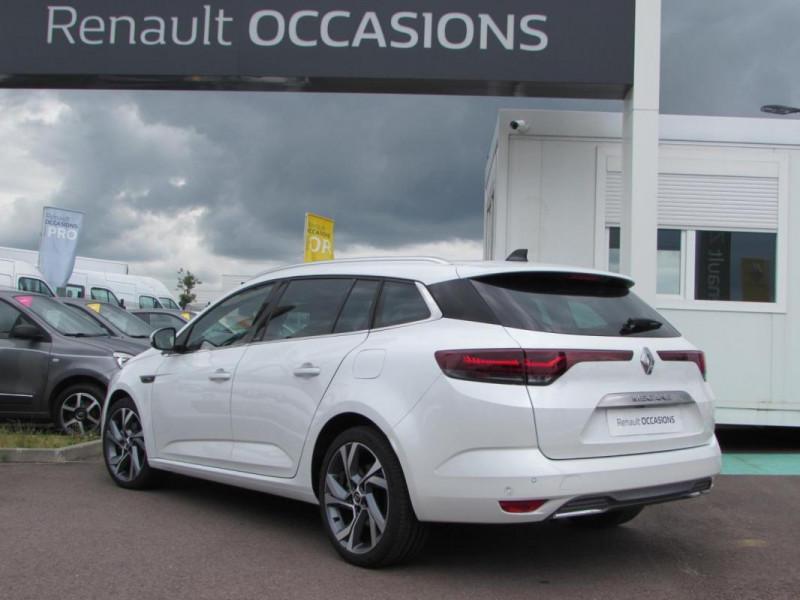 Renault Megane Estate IV ESTATE E-TECH Plug-In Hybride Blanc occasion à VALFRAMBERT - photo n°2
