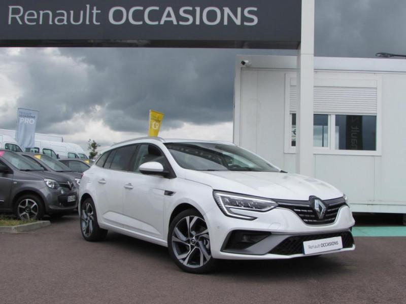 Renault Megane Estate IV ESTATE E-TECH Plug-In Hybride Blanc occasion à VALFRAMBERT