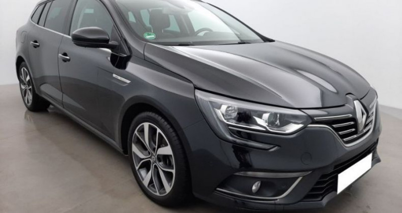 Renault Megane Estate IV ESTATE ESTATE 1.2 TCe 130 BOSE Noir occasion à CHANAS