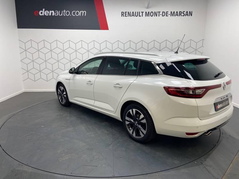 Renault Megane Estate IV ESTATE TCe 160 EDC FAP Intens Blanc occasion à Mont de Marsan - photo n°2