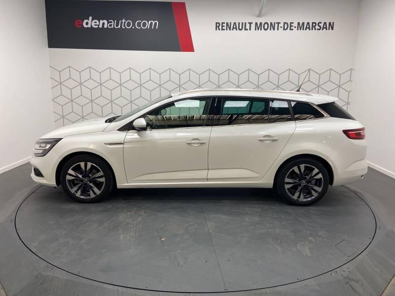 Renault Megane Estate IV ESTATE TCe 160 EDC FAP Intens Blanc occasion à Mont de Marsan - photo n°3