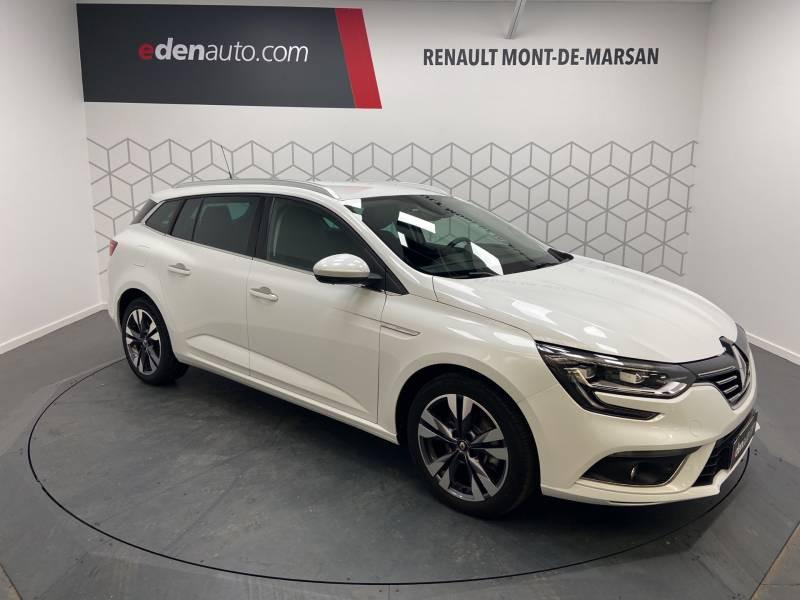 Renault Megane Estate IV ESTATE TCe 160 EDC FAP Intens Blanc occasion à Mont de Marsan - photo n°5