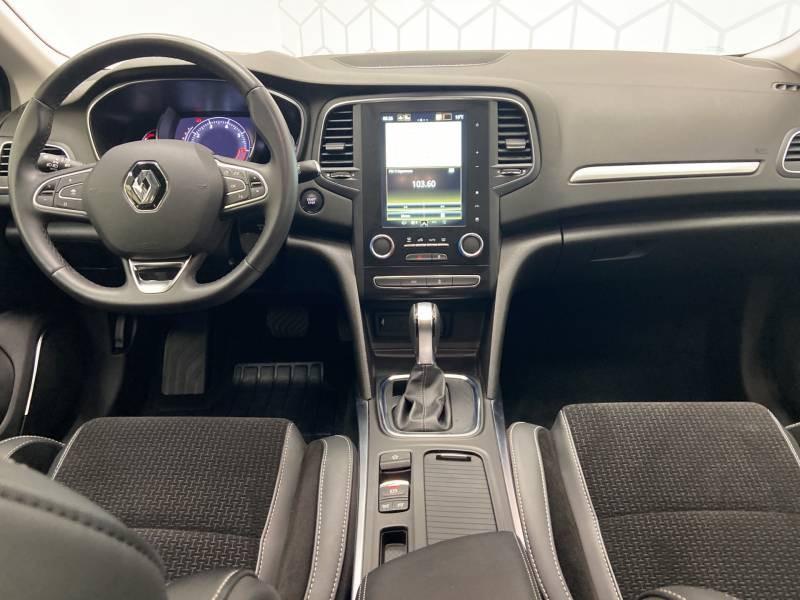 Renault Megane Estate IV ESTATE TCe 160 EDC FAP Intens Blanc occasion à Mont de Marsan - photo n°14