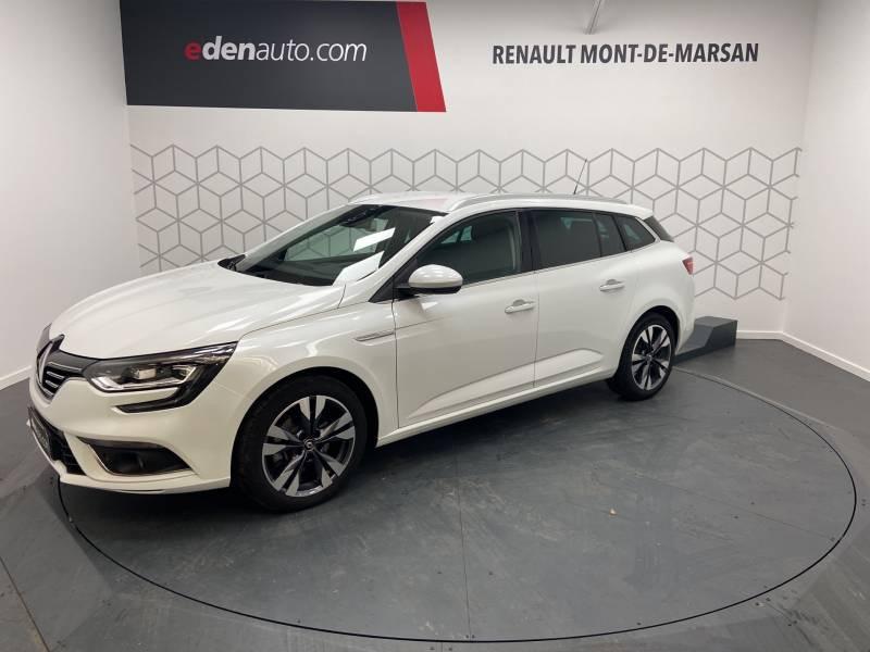 Renault Megane Estate IV ESTATE TCe 160 EDC FAP Intens Blanc occasion à Mont de Marsan