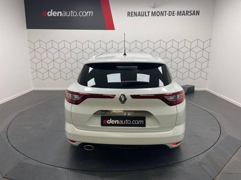 Renault Megane Estate IV ESTATE TCe 160 EDC FAP Intens Blanc occasion à Mont de Marsan - photo n°8