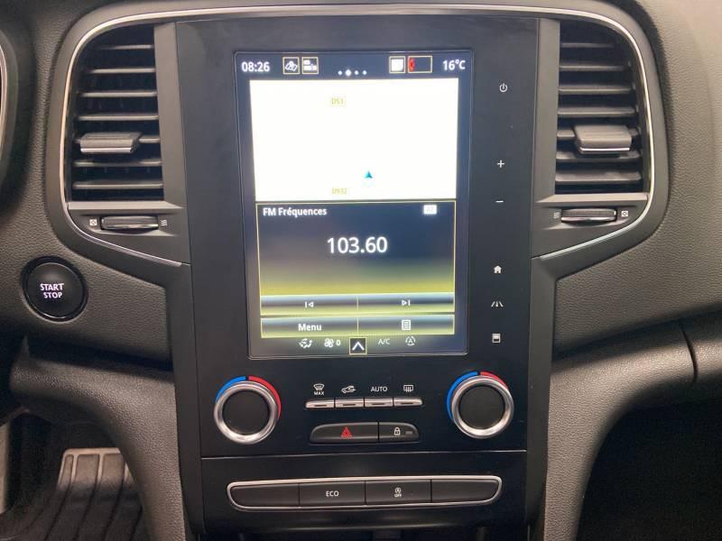 Renault Megane Estate IV ESTATE TCe 160 EDC FAP Intens Blanc occasion à Mont de Marsan - photo n°18