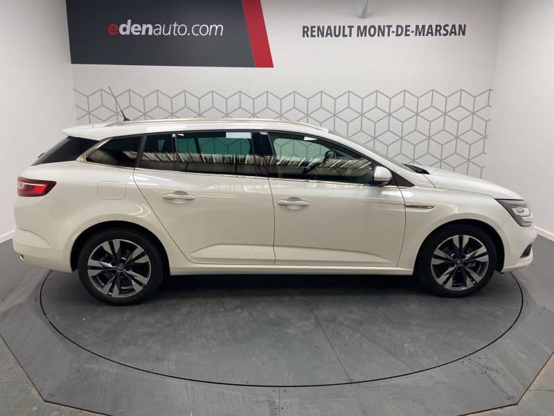 Renault Megane Estate IV ESTATE TCe 160 EDC FAP Intens Blanc occasion à Mont de Marsan - photo n°6