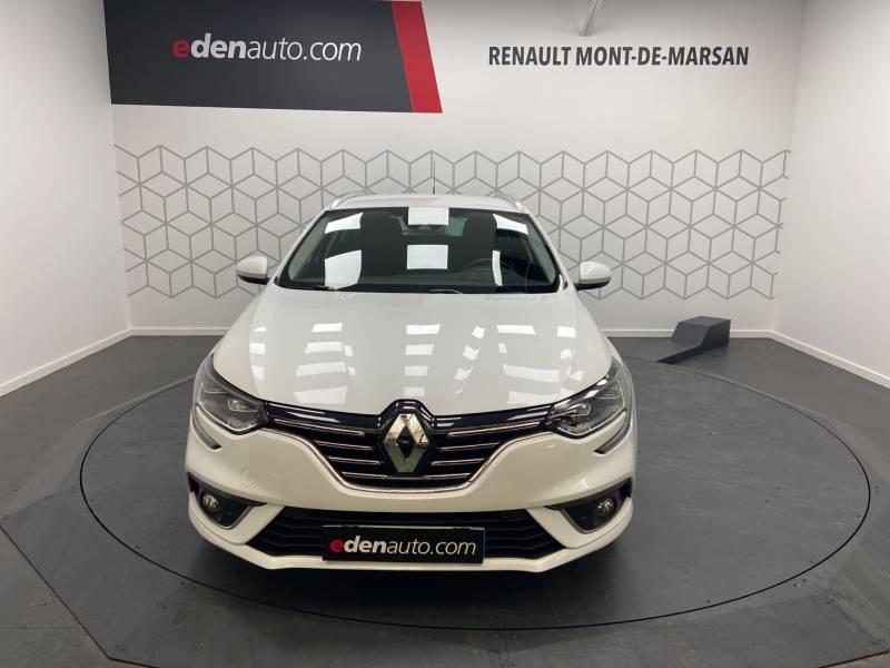 Renault Megane Estate IV ESTATE TCe 160 EDC FAP Intens Blanc occasion à Mont de Marsan - photo n°4