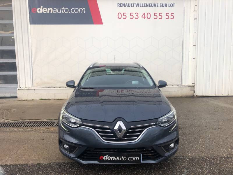 Renault Megane Estate IV ESTATE TCe 160 EDC FAP Intens Gris occasion à Villeneuve-sur-Lot