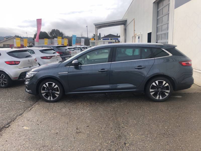 Renault Megane Estate IV ESTATE TCe 160 EDC FAP Intens Gris occasion à Villeneuve-sur-Lot - photo n°3