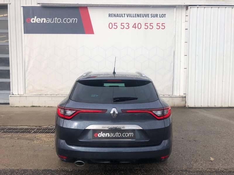 Renault Megane Estate IV ESTATE TCe 160 EDC FAP Intens Gris occasion à Villeneuve-sur-Lot - photo n°4