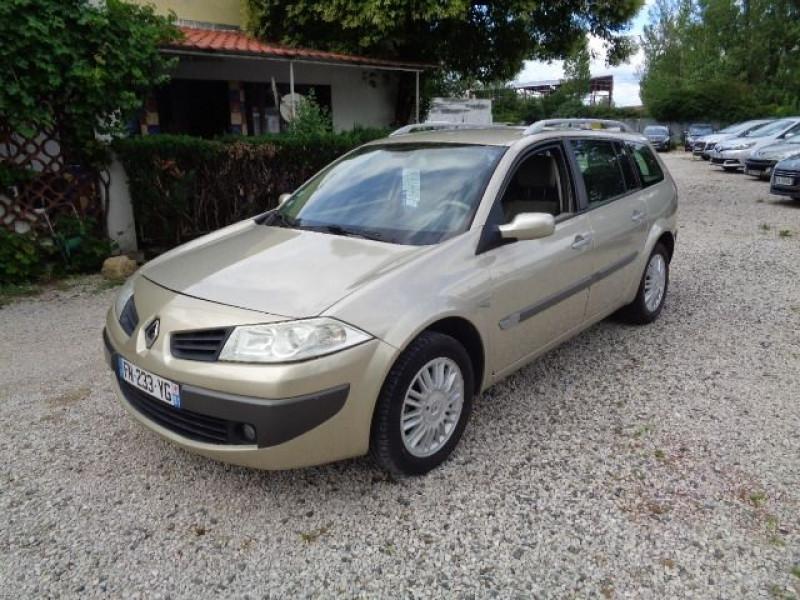 Renault Megane II occasion 2006 mise en vente à Aucamville par le garage AUTOS 4X4 AZUR - photo n°1