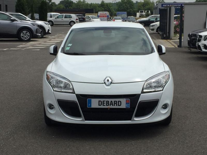 Renault Megane III 1.5 DCI 110CH FAP DYNAMIQUE ECO² EURO5 Blanc occasion à Mées - photo n°2