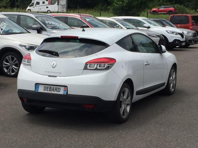 Renault Megane III 1.5 DCI 110CH FAP DYNAMIQUE ECO² EURO5 Blanc occasion à Mées - photo n°5