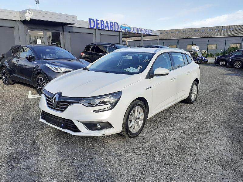 Renault Megane IV 1.3 TCE 140CH FAP INTENS EDC Blanc occasion à Ibos