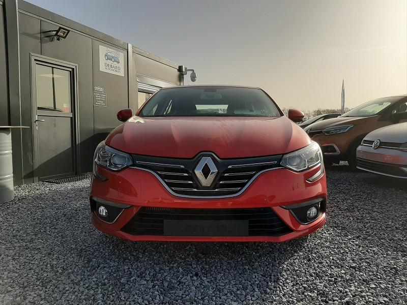Renault Megane IV 1.3 TCE 140CH FAP INTENS EDC Rouge occasion à Serres-Castet - photo n°2