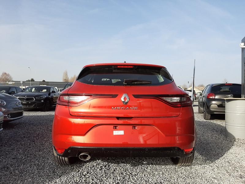 Renault Megane IV 1.3 TCE 140CH FAP INTENS EDC Rouge occasion à Serres-Castet - photo n°5